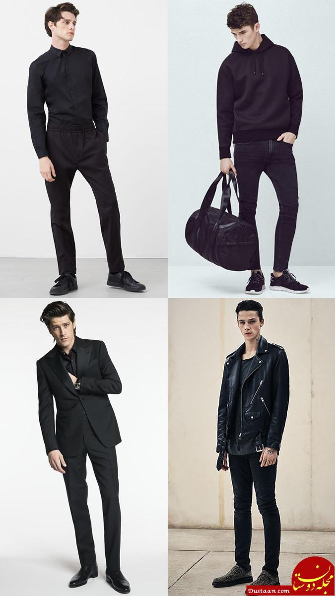 www.dustaan.com نکات ست کردن لباس براى مردان قد کوتاه/ نکات ست کردن لباس براى مردان چاق و لاغر