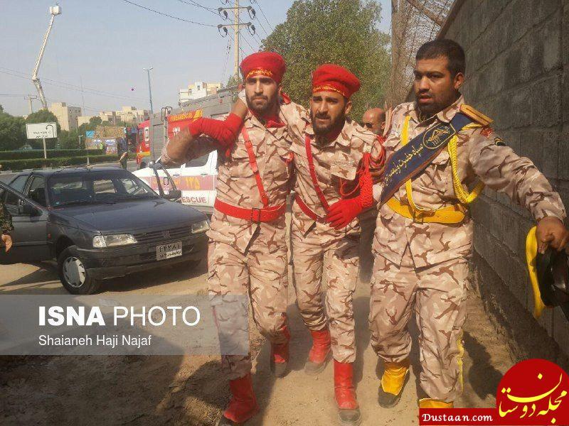 www.dustaan.com مهاجمان حمله به رژه اهواز گریختند /تعداد شهدا و مجروحین احتمالا ۴ نفر است