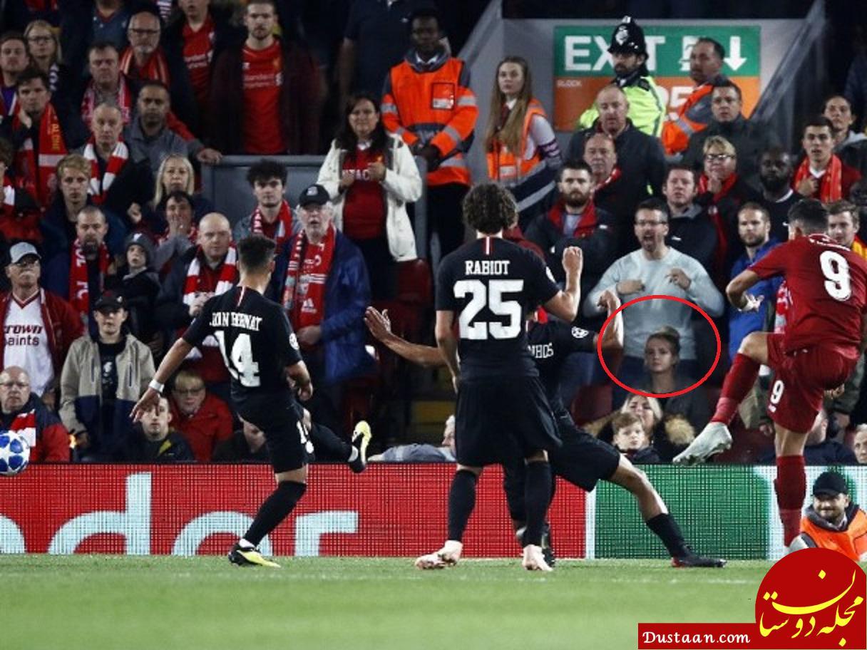 www.dustaan.com این خانم در ورزشگاه چه کار میکند؟! +عکس