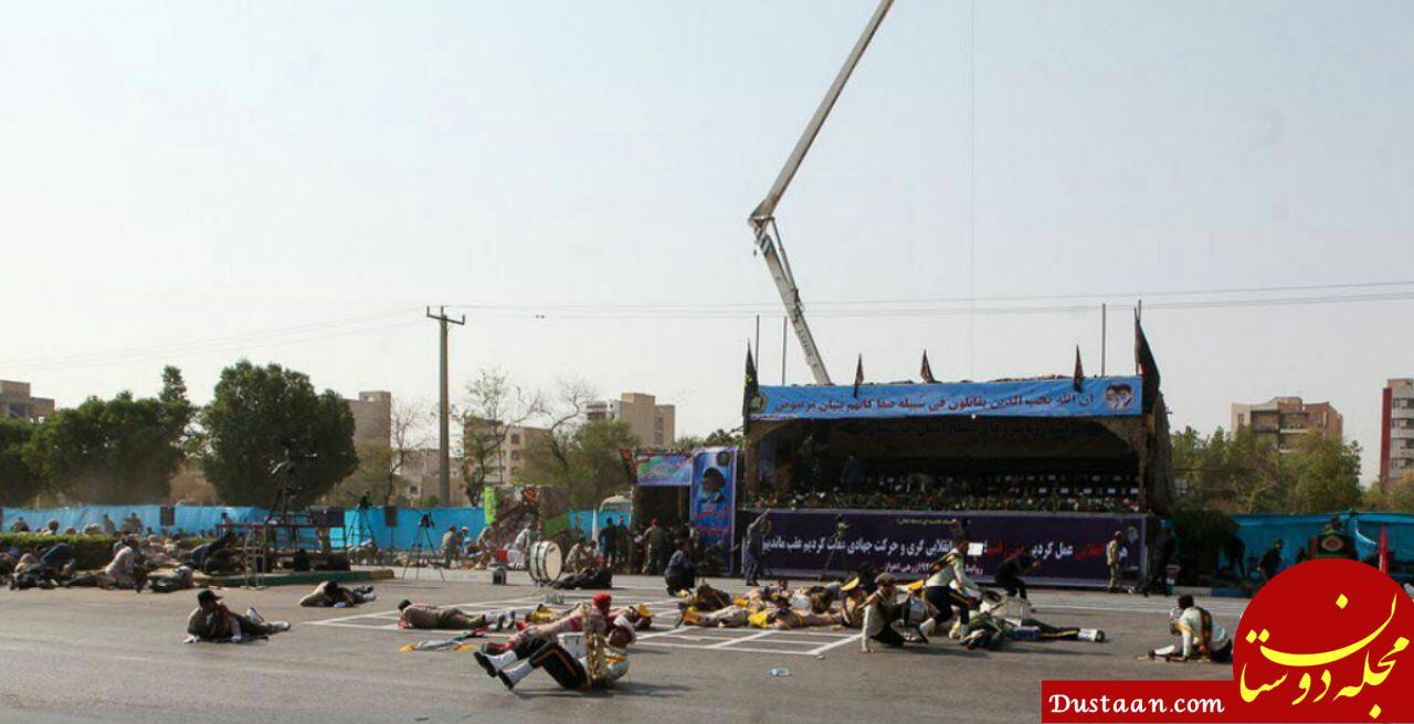 عکسهای حادثه امروز اهواز