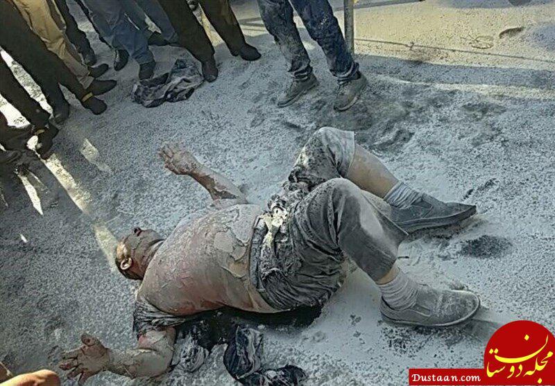 www.dustaan.com فردی که در برابر شهرداری خود سوزی کرده بود، جان باخت