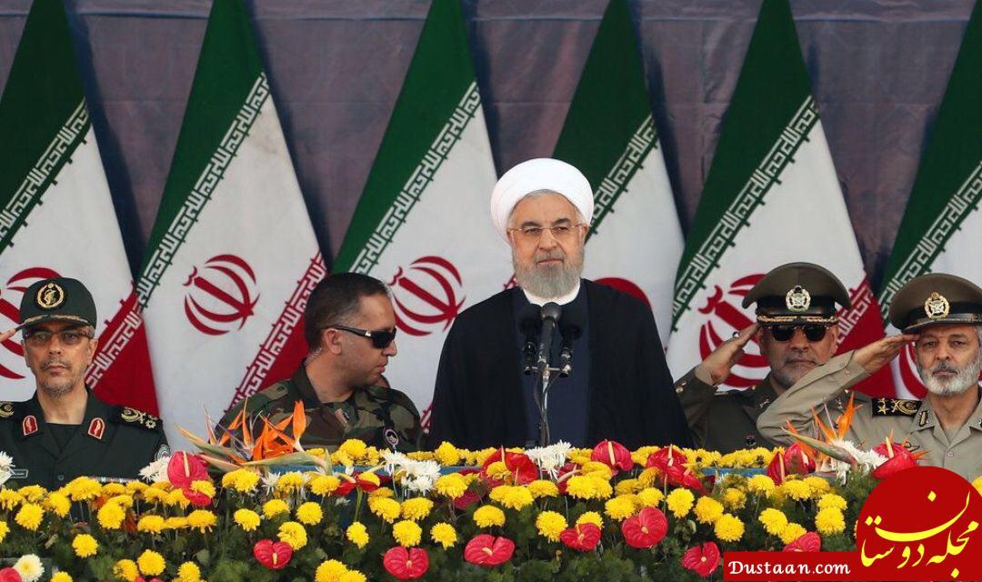 www.dustaan.com رئیسجمهور: امروز همه شرق و غرب در کنار ایران ایستاده اند و با ترامپ مقابله می کنند