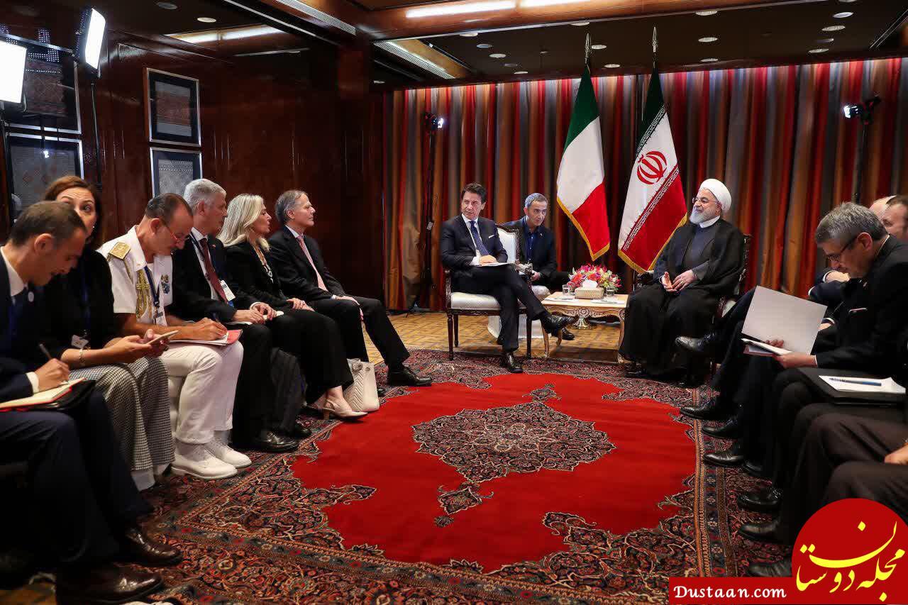 حسن روحانی در نشست خبری در سازمان ملل: ما تنها نیستیم آمریکا تنها است