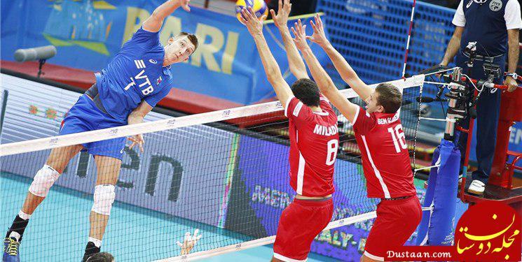 www.dustaan.com ثبت رکورد جدید در والیبال قهرمانی جهان توسط روس ها