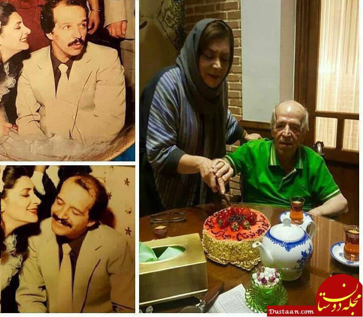 www.dustaan.com مهوش وقاری و همسرش محسن قاضی مرادی در روز عروسی شان! +تصاویر