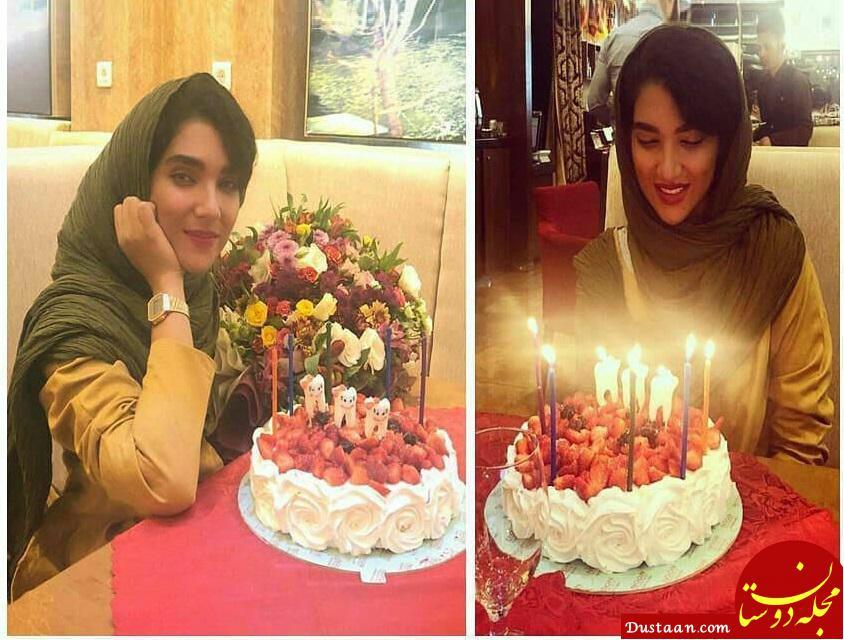 www.dustaan.com جشن تولد 29 سالگی سارا رسول زاده +عکس
