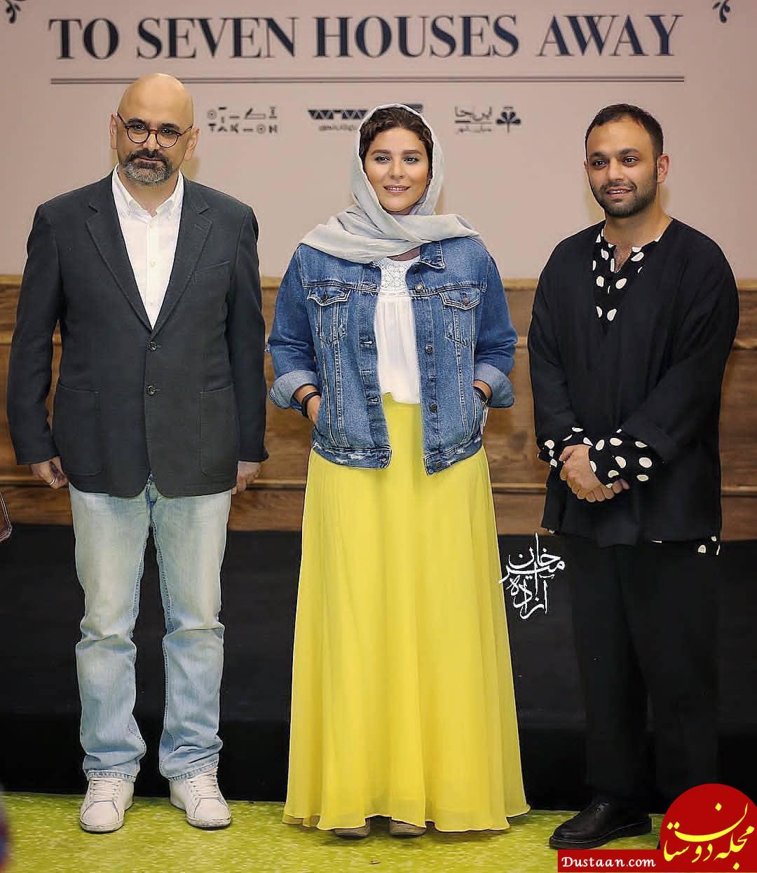 www.dustaan.com تیپ متفاوت سحر دولتشاهی در یک مراسم! +عکس