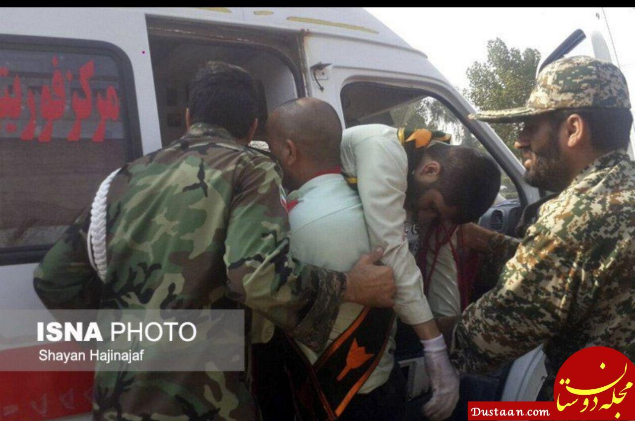 www.dustaan.com بیش از 30 زخمی و 12 شهید در حادثه تروریستی اهواز