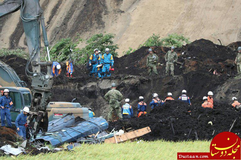 www.dustaan.com افزایش کشته های زلزله 7 ریشتری ژاپن به 35 کشته