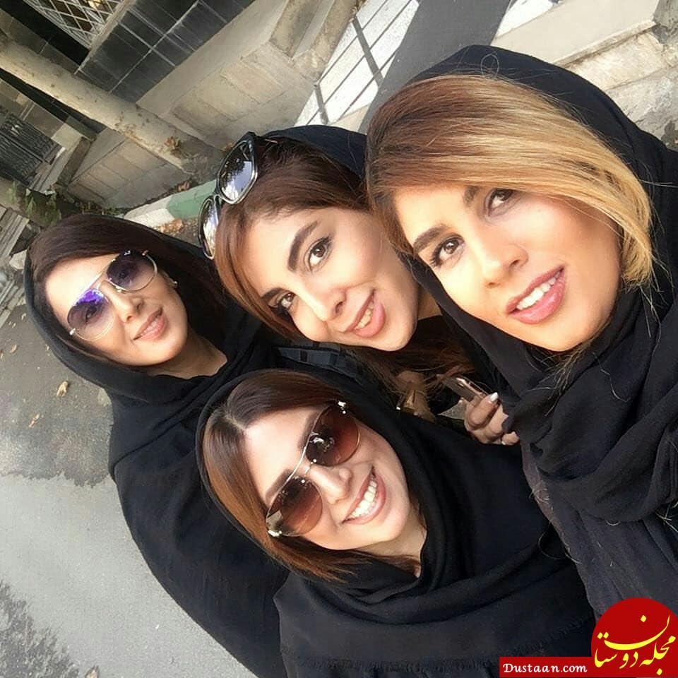 www.dustaan.com لیلا بلوکات و خواهرانش در یک قاب