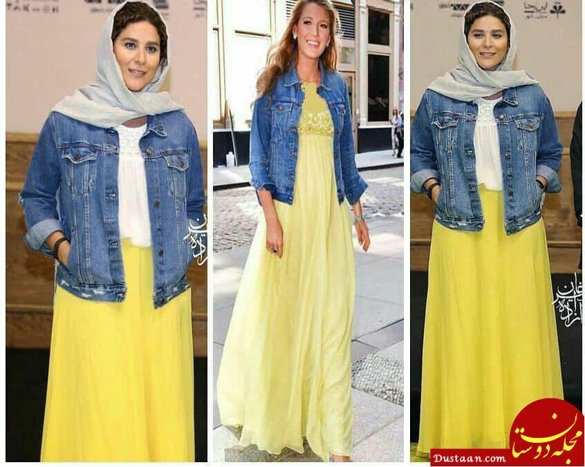 www.dustaan.com کپی برداری سحر دولتشاهی از مدل آمریکایی! +عکس