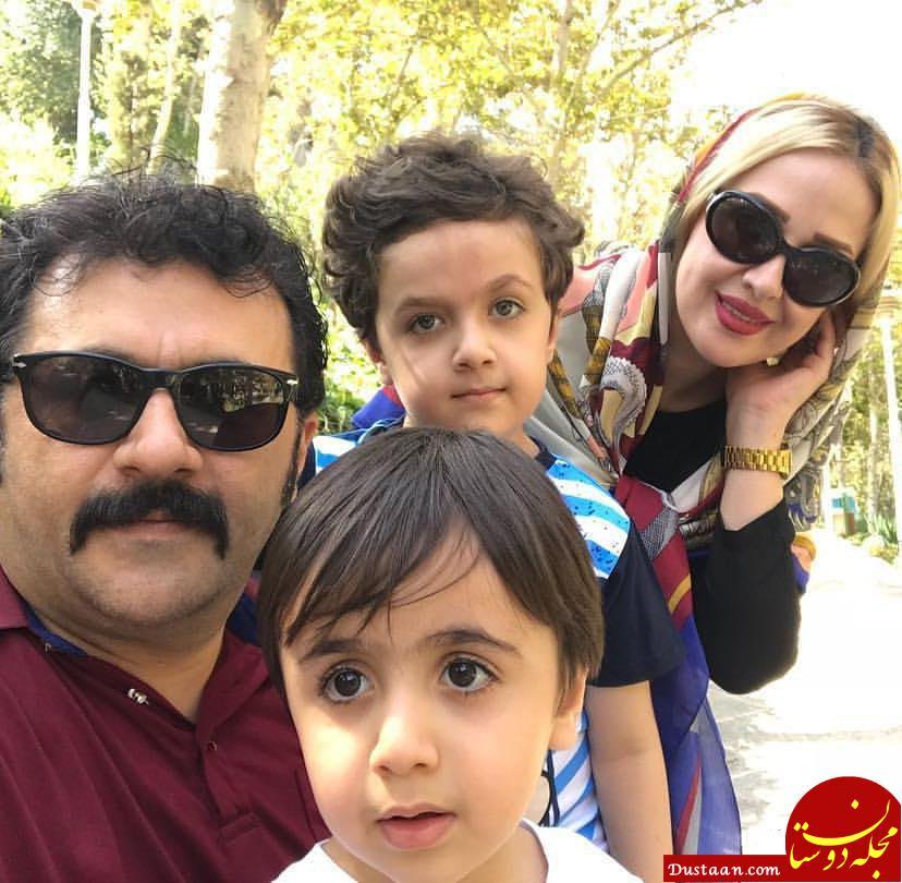 www.dustaan.com شهرام عبدلی ، همسر و فرزندانش در یک قاب +بیوگرافی