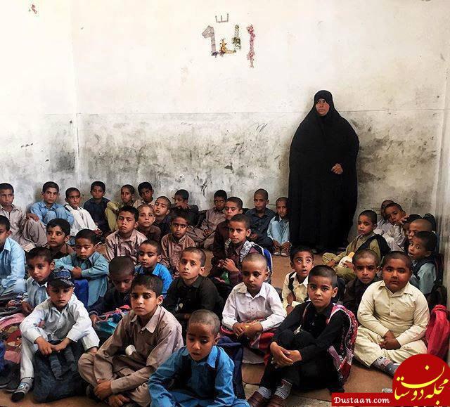 کلاس درس محروم در استان سیستان و بلوچستان! +عکس