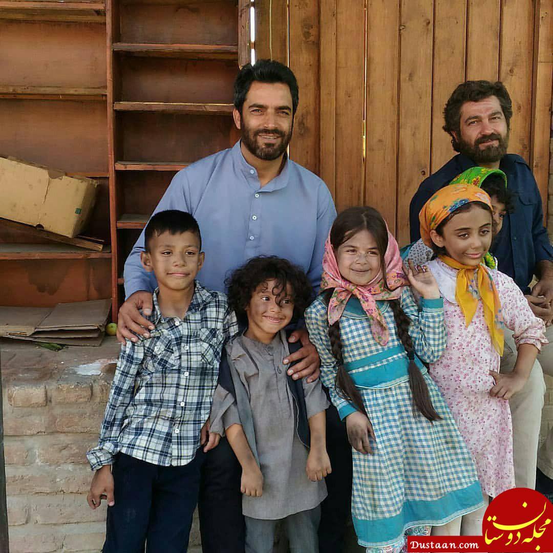 www.dustaan.com عکس های دیدنی از پشت صحنه فصل دوم سریال دلدادگان