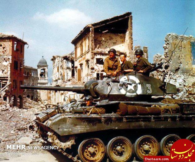 تصاویر رنگی جنگ جهانی دوم
