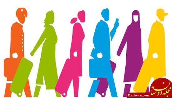 www.dustaan.com اروپایی ها عاشق چشم و ابروی مشکی نیستندِ به این دلیل به اروپا مهاجرت نکنید