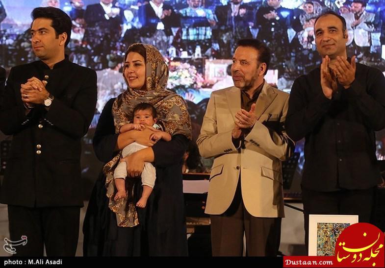 عکس های محمد معتمدی در کنار همسر و فرزندش