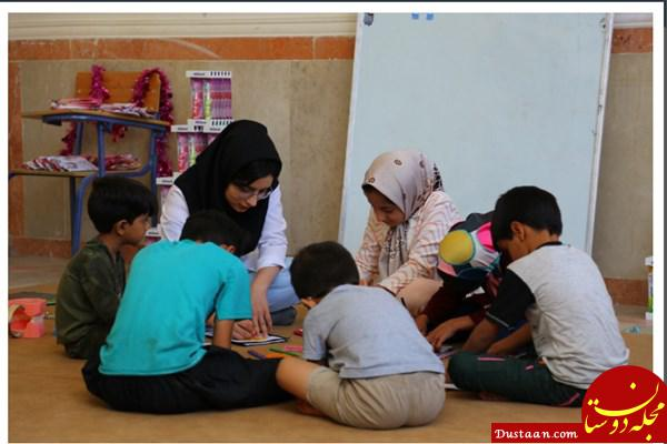 www.dustaan.com کار جهادی مامای 21 ساله در دور افتاده ترین روستاها +عکس
