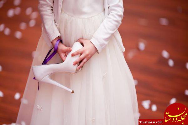 www.dustaan.com ماجراهای گفته نشده از عروسی کودک ۹ ساله در مشهد!