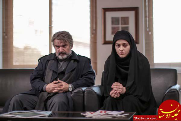 www.dustaan.com واکنش مهدی سلطانی به ماجرای حجاب ریحانه پارسا بازیگر سریال پدر
