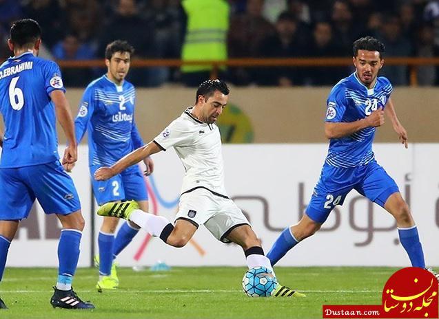 www.dustaan.com ژاوی: بازی خوبی انجام دادیم و باید منتظر بازی برگشت باشیم