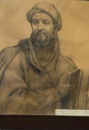 www.dustaan.com تصویری ببینیدی از چهره واقعی ابوعلی سینا