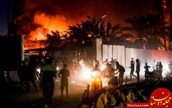 www.dustaan.com ورود کمیسیون امنیت ملی به ماجرای تعرض به کنسولگری ایران در بصره