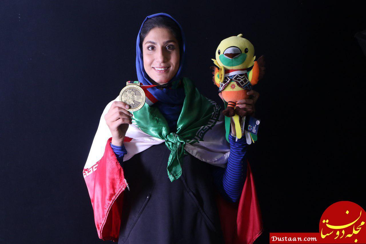 www.dustaan.com واکنش پرسپولیسی ها به شکست دختر کاراته کای استقلالی