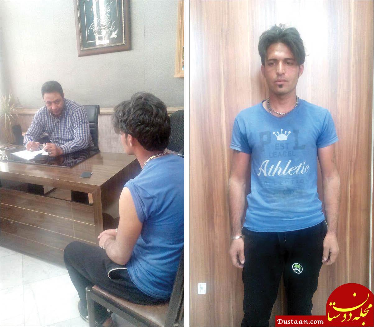 www.dustaan.com متهم: رگ گردن مرد قصاب را با تیغ موکت بری زدم! +عکس