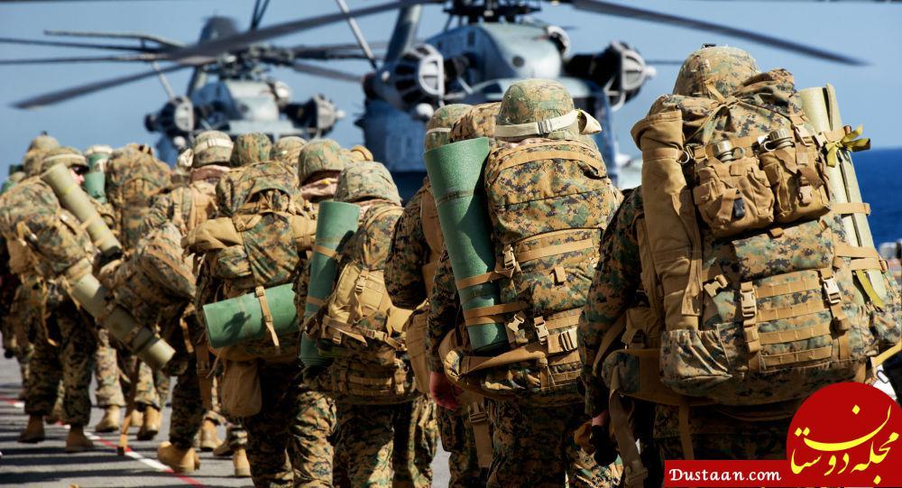 www.dustaan.com اعزام 100 تفنگدار دریایی آمریکا به سوریه