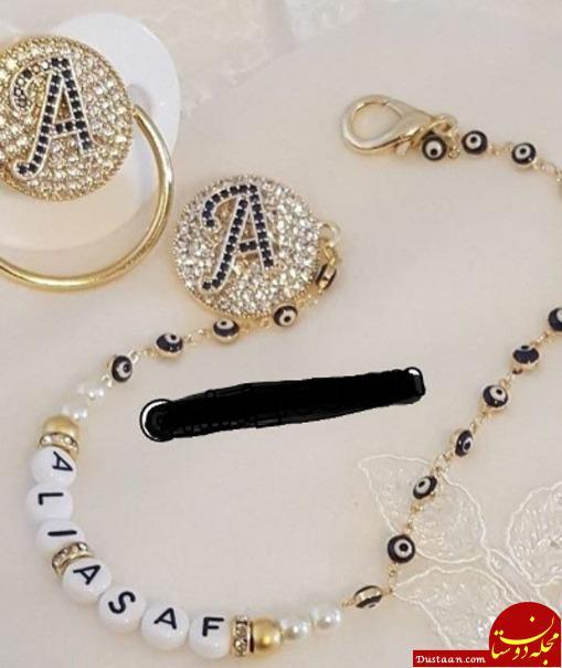 www.dustaan.com رونمایی از «پستونک طلا» برای نوزادان لاکچری! +عکس