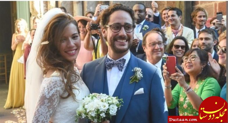 www.dustaan.com عکس های دیدنی از عروسی پسر رئیس جمهور سابق