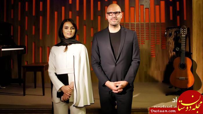www.dustaan.com لباس عجیب بازیگر ایرانی در آلمان! +تصاویر