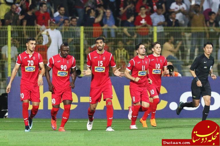 www.dustaan.com موافقت کنفدراسیون فوتبال آسیا با تغییر زمان دیدار پرسپولیس   الدحیل