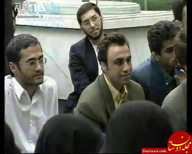 www.dustaan.com عکس زیرخاکی از رضاعطاران و رامبد جوان در دیدار با رهبری