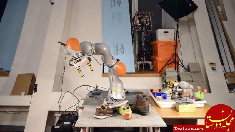 www.dustaan.com این ربات اتاقتان را مرتب می کند! +عکس