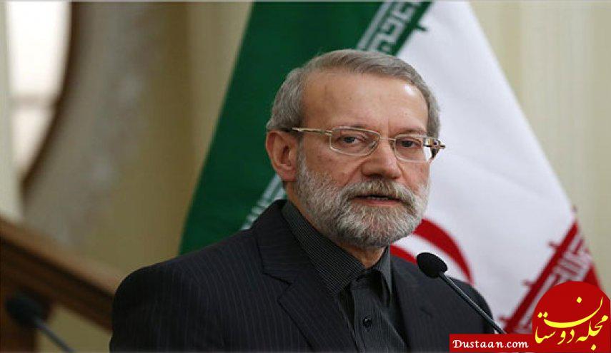 www.dustaan.com علی لاریجانی: آمریکا و اسرائیل علیه ایران برنامه دارند