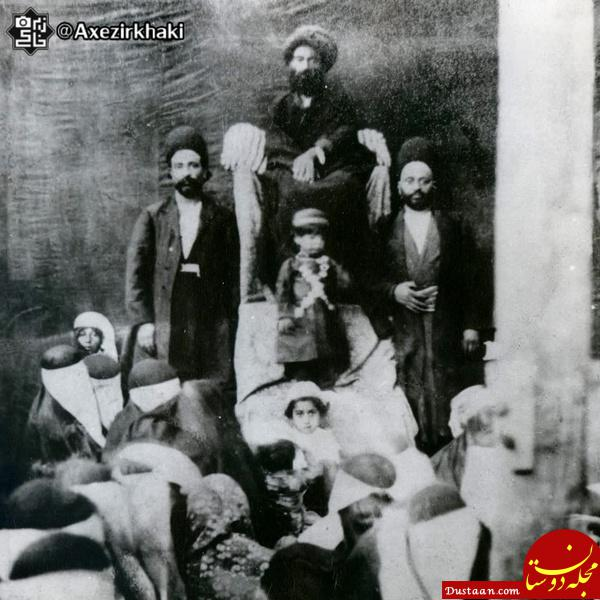 www.dustaan.com احمد شاه قاجار در مجلس عزاداری! +عکس