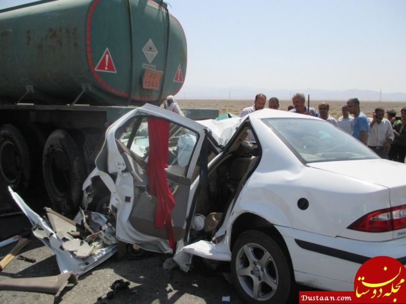 www.dustaan.com حادثه رانندگی در بروجرد 6 کشته و زخمی برجا گذاشت +عکس