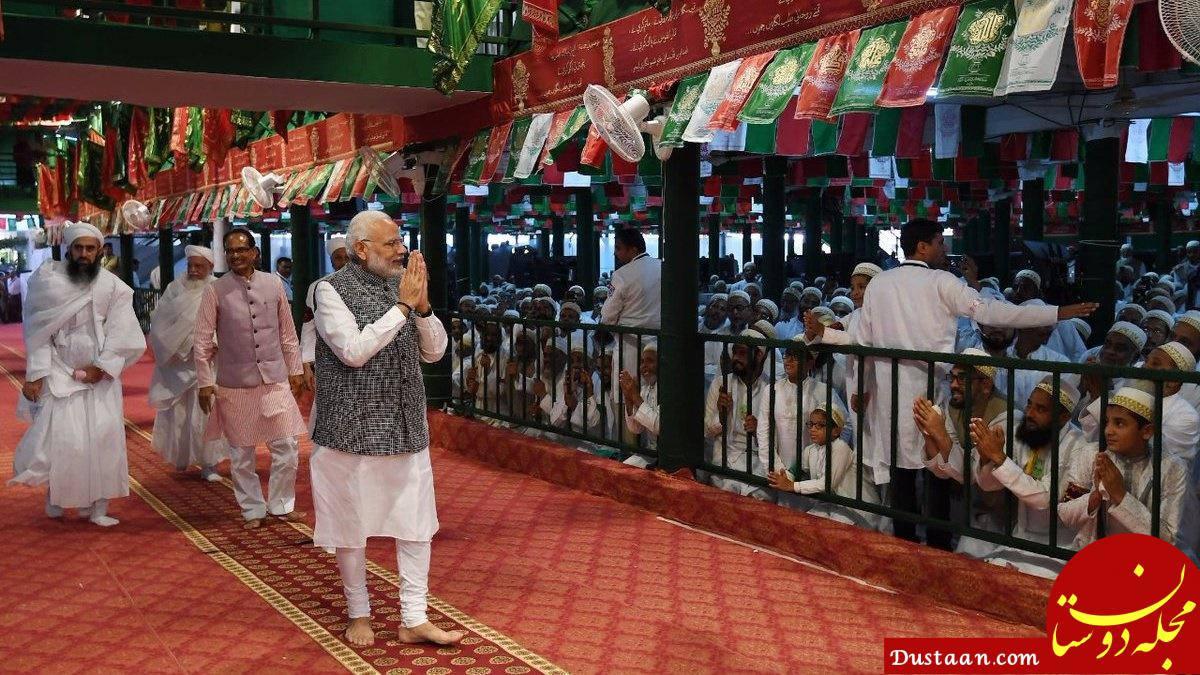 www.dustaan.com نخست وزیر هند در مراسم سوگواری محرم +تصاویر