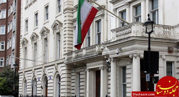 www.dustaan.com تعرض به سفارت ایران در پاریس
