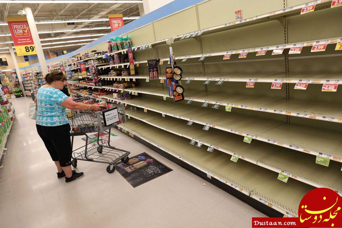 www.dustaan.com هجوم عجیب مردم به فروشگاه ها برای خرید خوراکی! +عکس