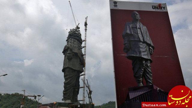 www.dustaan.com ساخت بزرگترین مجسمه جهان به کجا رسید؟ +عکس