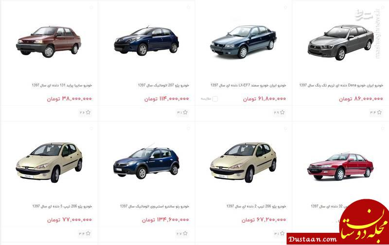 www.dustaan.com دیجی کالا پراید را چقدر گران تر از بازار می فروشد؟ +عکس