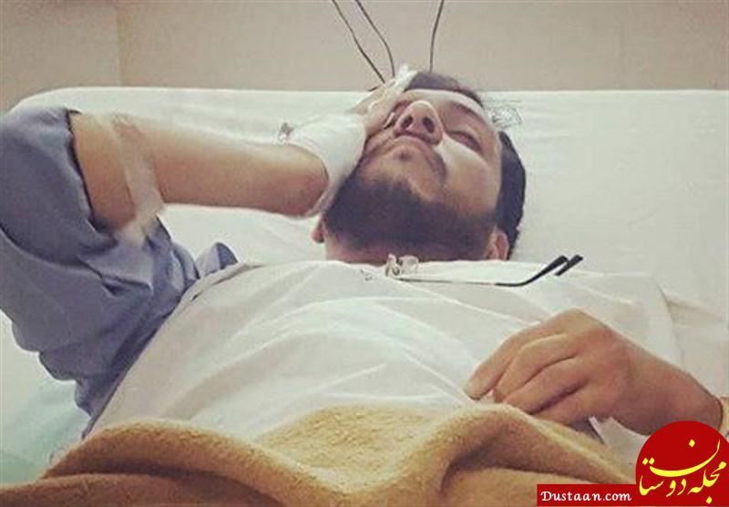 www.dustaan.com طلبه مضروب مشهدی درگذشت +عکس