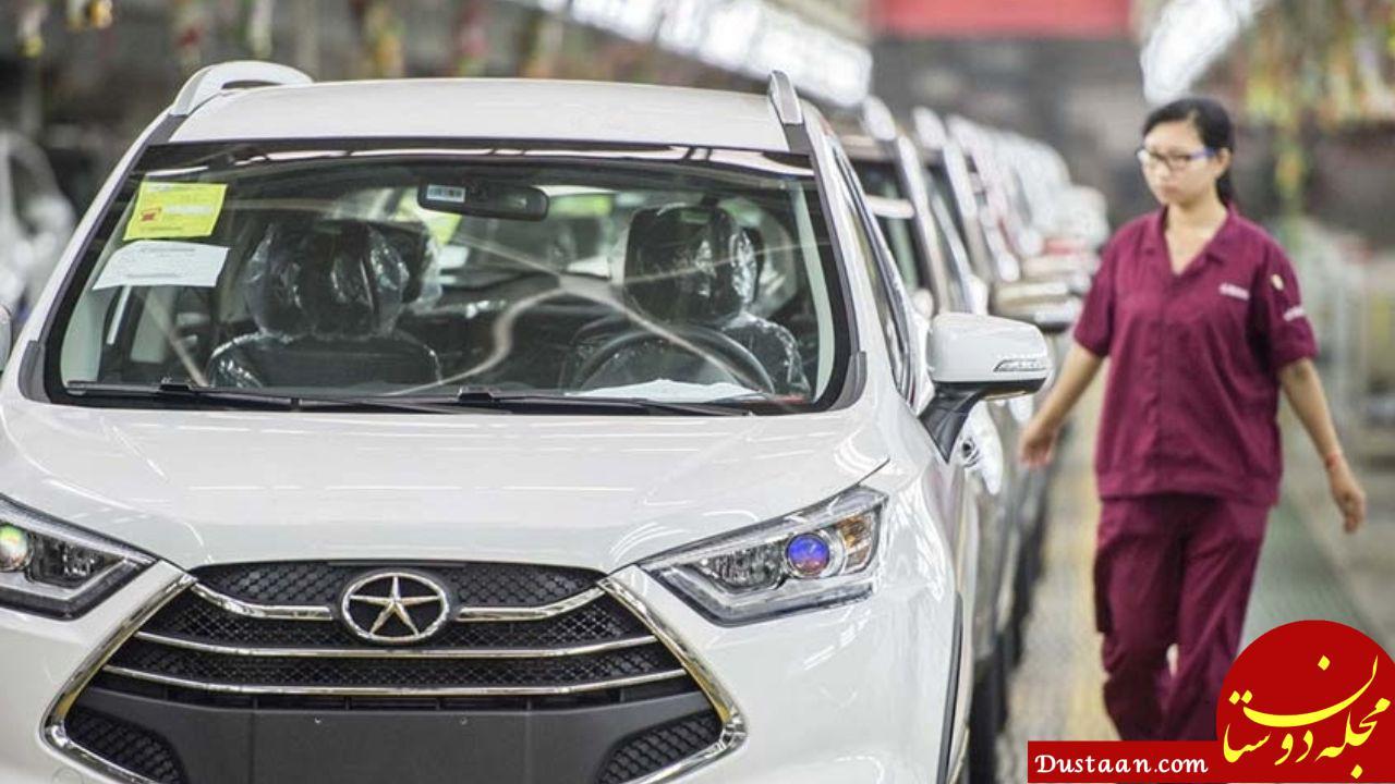 www.dustaan.com سهم خودروسازان چینی از بازار ایران چقدر است؟
