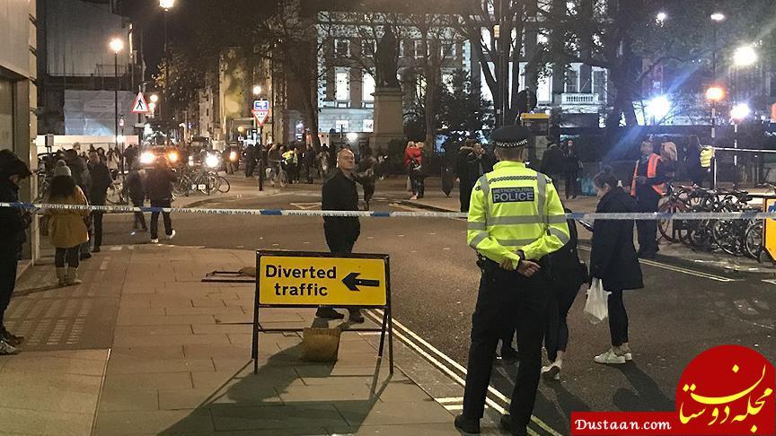 www.dustaan.com حمله یک خودرو به عابران پیاده مقابل یک مسجد در لندن
