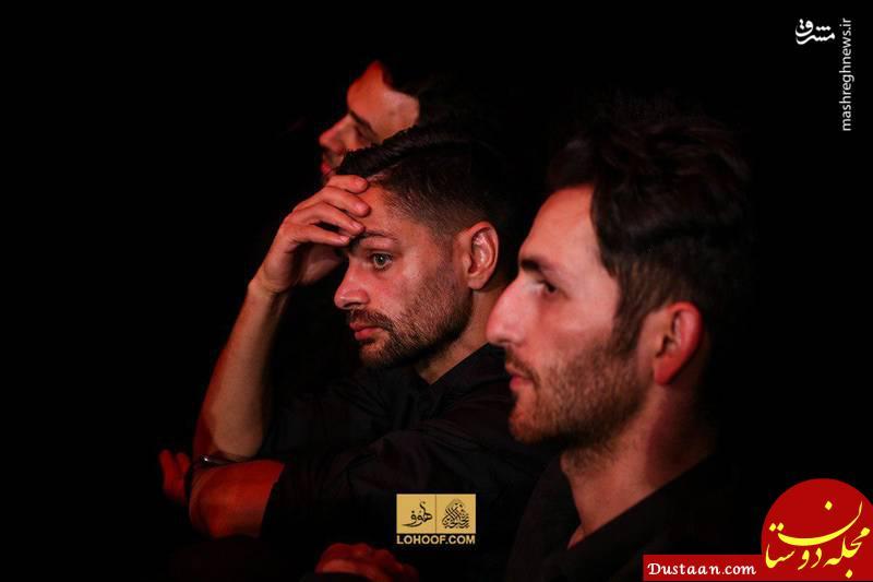 www.dustaan.com حضور ستاره پرسپولیس در هیئت بنی فاطمه +عکس