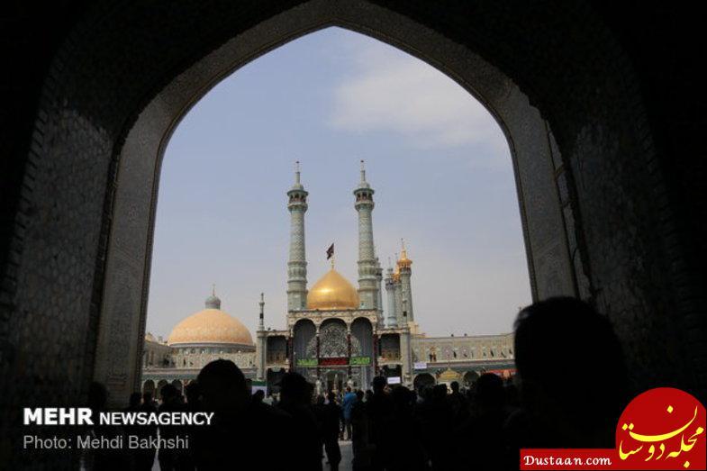 www.dustaan.com مراسم عزاداری روز تاسوعای حسینی در مشهد و قم +عکس