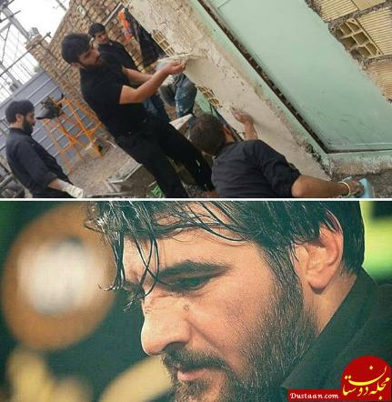 www.dustaan.com توضیح روحانی جنجالی درباره مداح بنز سوار +عکس